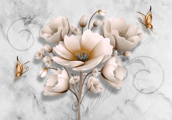 پوستر دیواری گل نسترن