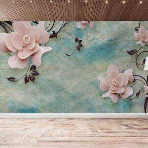 پوستر دیواری گل فانتزی