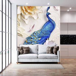 طاووس آبی
