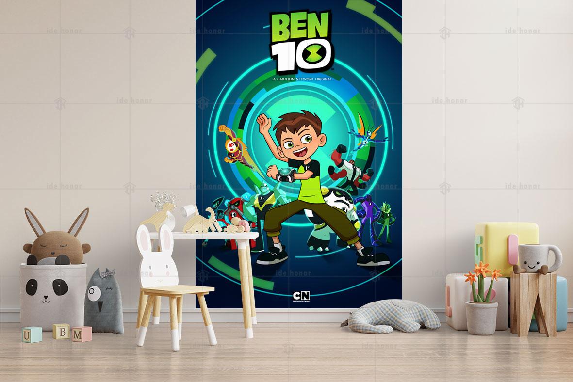 پوستر دیواری اتاق کودک بن تن (Ben10)
