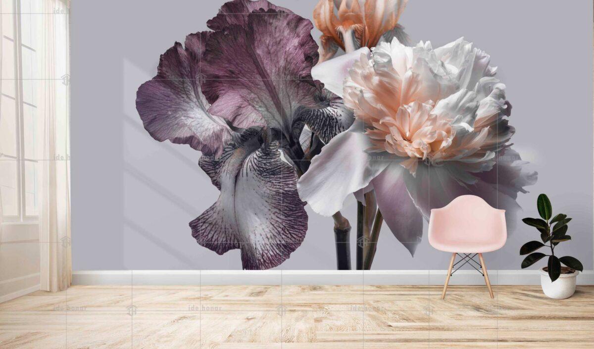 پوستر دیواری گل زیبا