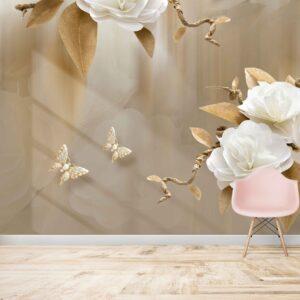 گل و پروانه