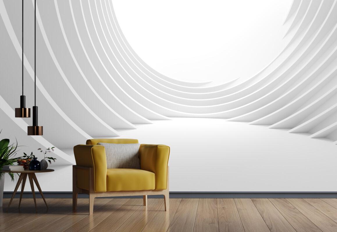 پوستر دیواری سه بعدی حفره روشن