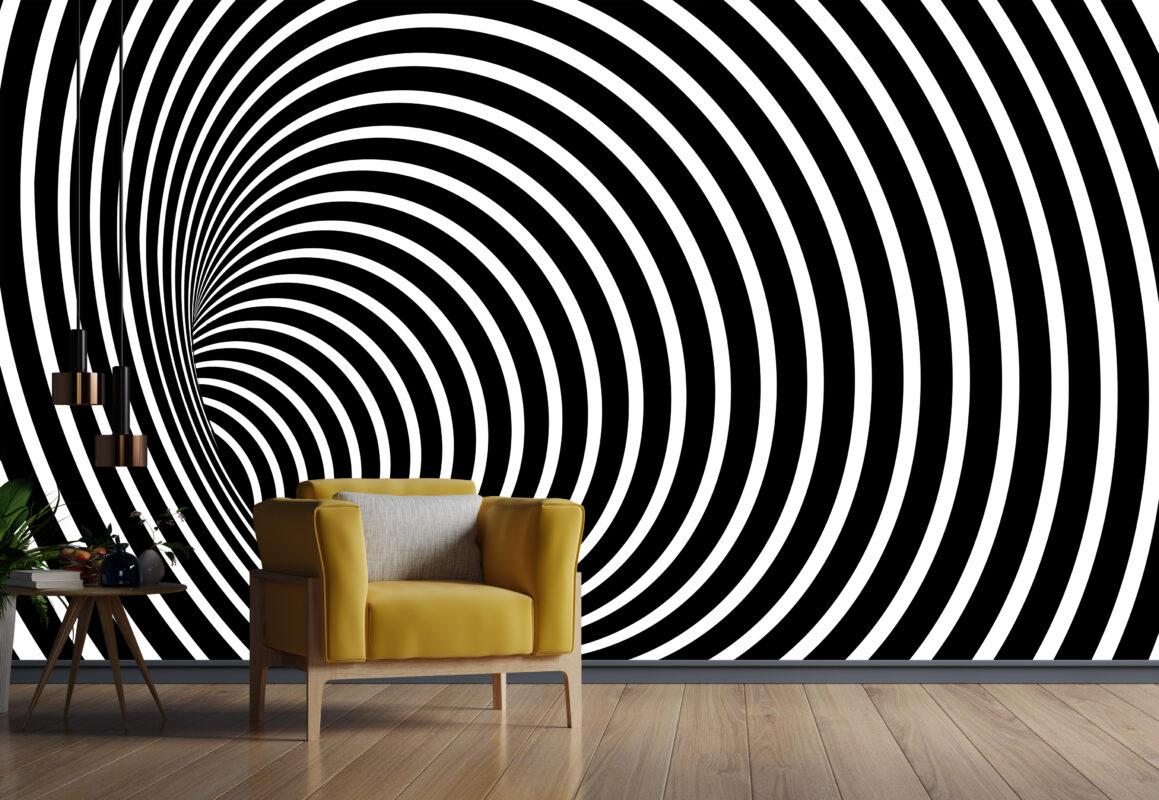 پوستر دیواری حفره سه بعدی