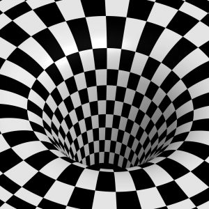 پوستر دیواری دریچه شطرنجی