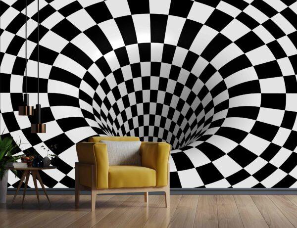 دریچه شطرنجی