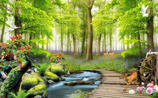 پوستر دیواری طبیعت بهشتی