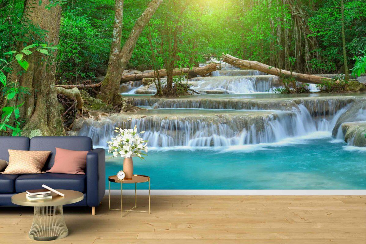 پوستر دیواری رودخانه زیبا